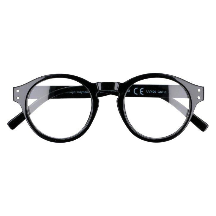 Okulary zerówki oprawki czarne GALLA | BORN86.pl